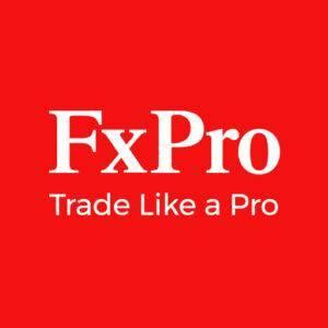 FX Pro logo, trade like a pro (MCLaren F! team sponsor)